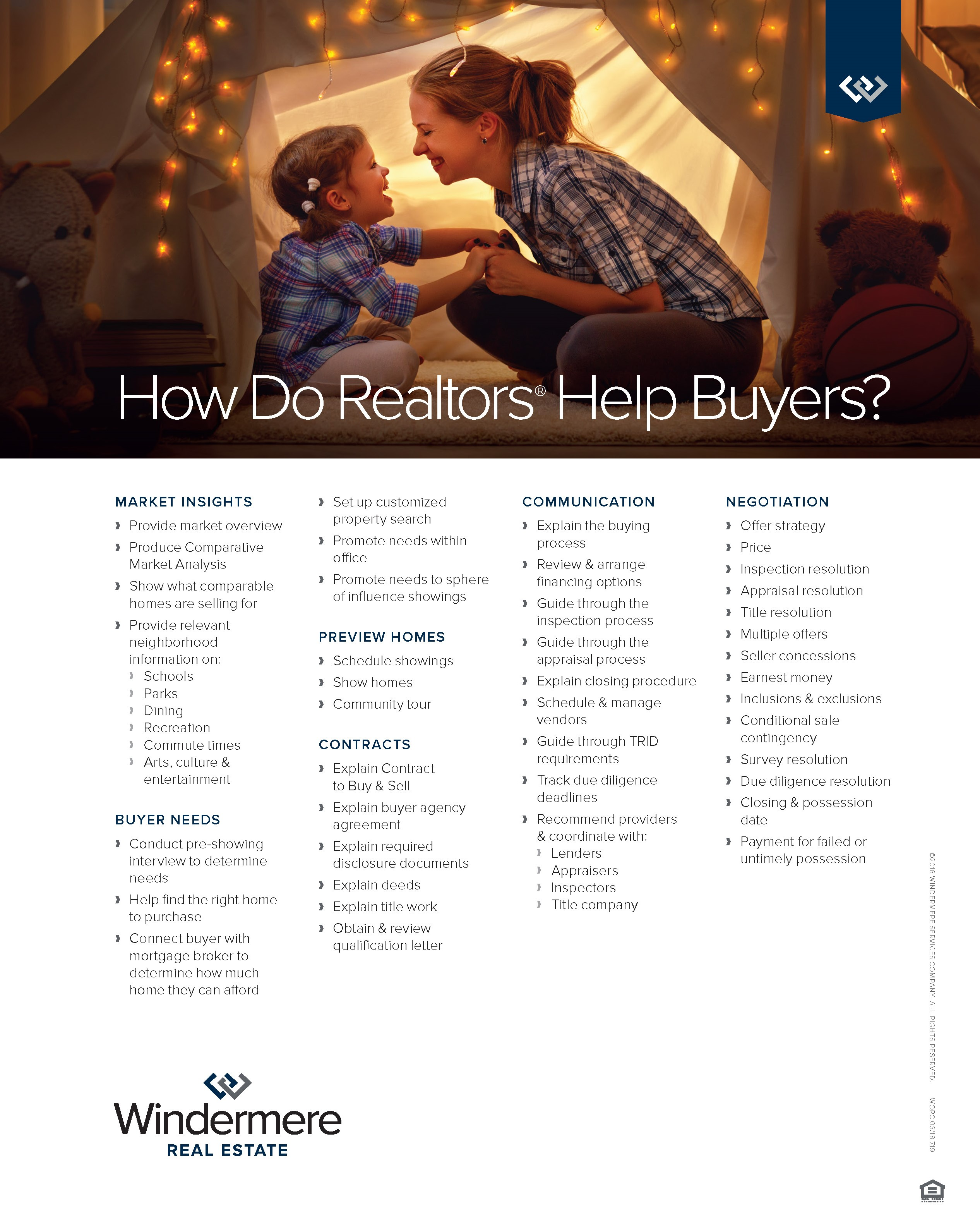 Services Realtors Provide to Buyers